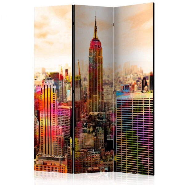 Paraván - Colors of New York City III [Room Dividers]