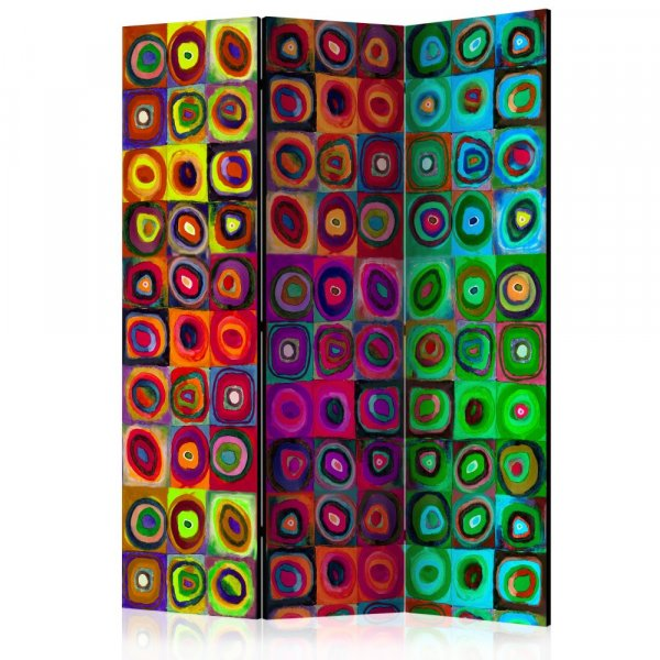 Paraván - Colorful Abstract Art  [Room Dividers]